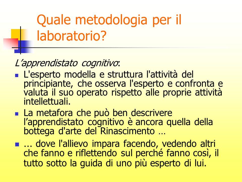 Quale metodologia per il laboratorio