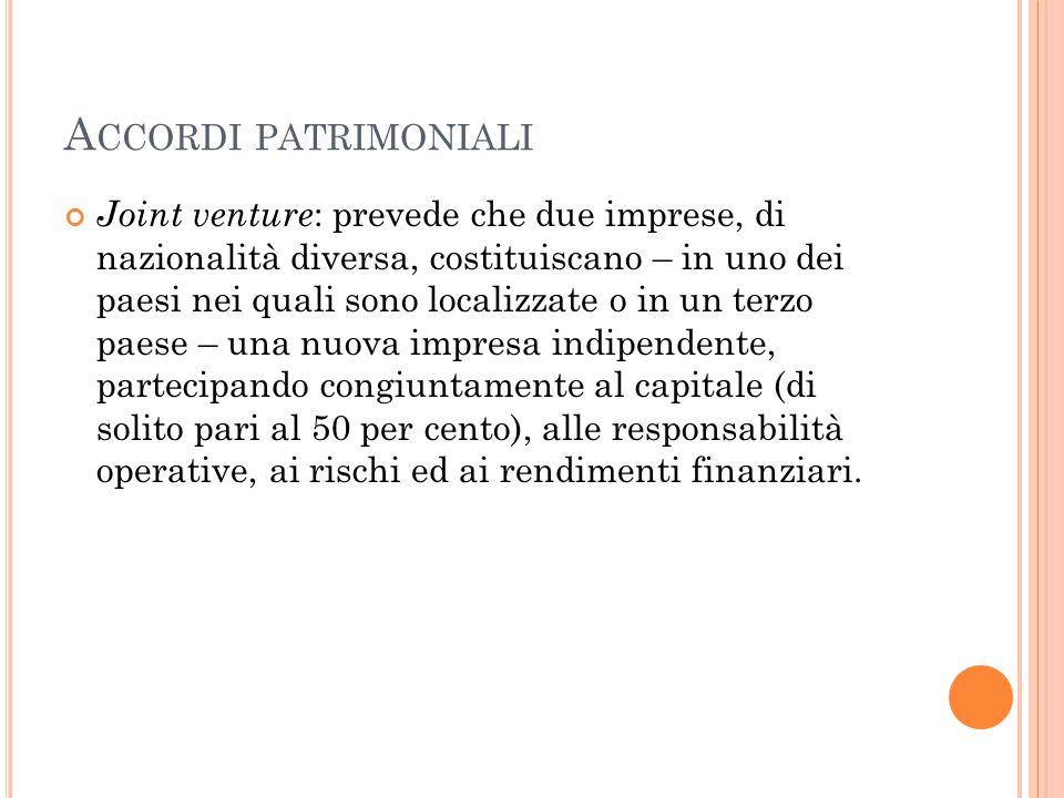 Accordi patrimoniali