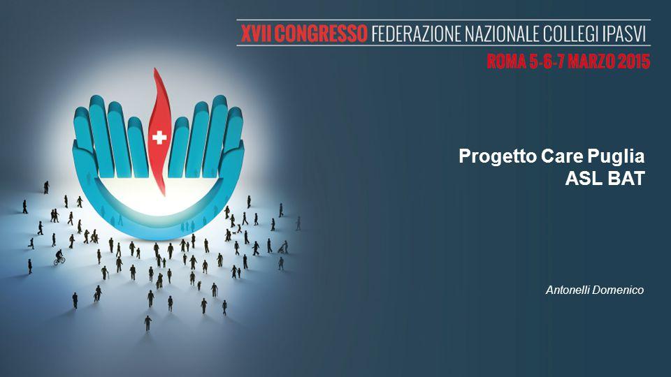 Progetto Care Puglia ASL BAT Antonelli Domenico