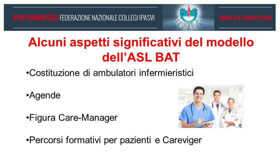 Alcuni aspetti significativi del modello dell'ASL BAT