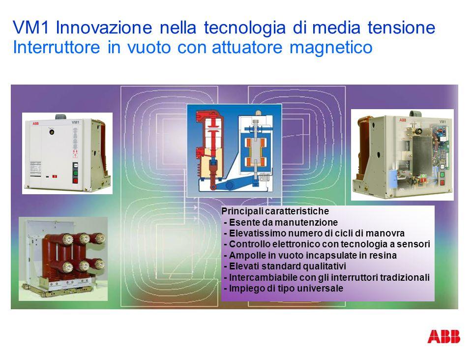 VM1 Innovazione nella tecnologia di media tensione Interruttore in vuoto con attuatore magnetico