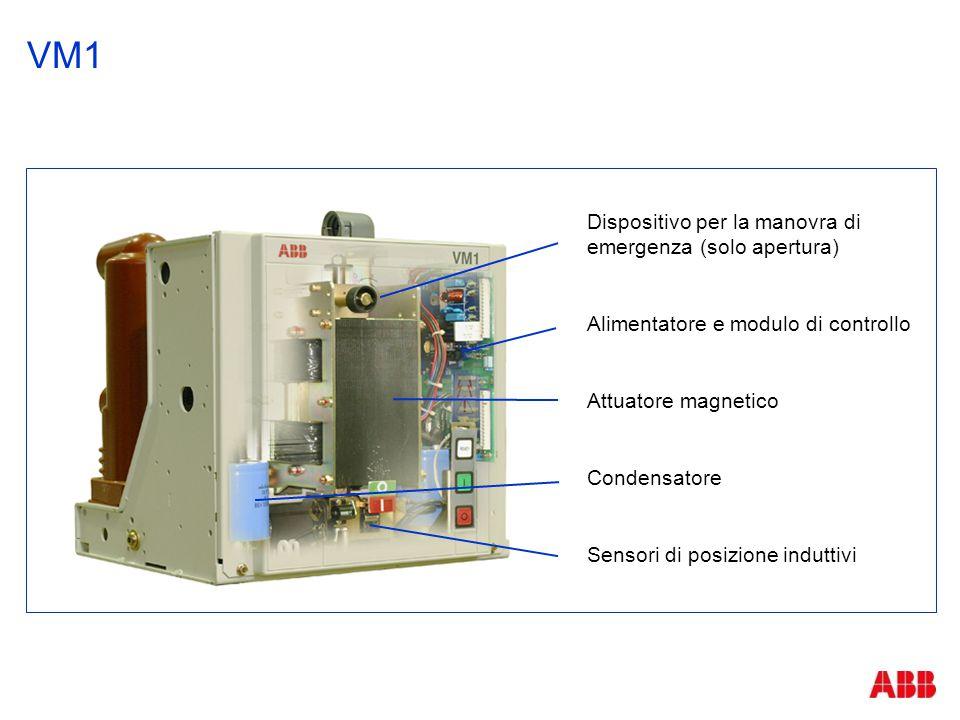 VM1 Dispositivo per la manovra di emergenza (solo apertura)