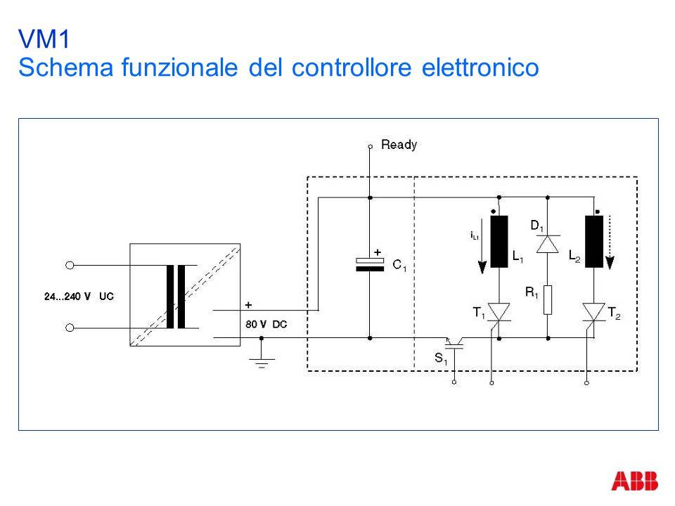 VM1 Schema funzionale del controllore elettronico