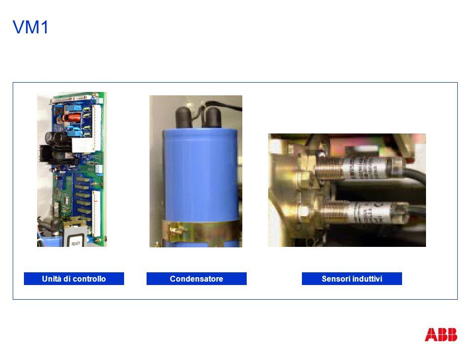 VM1 Unità di controllo Condensatore Sensori induttivi