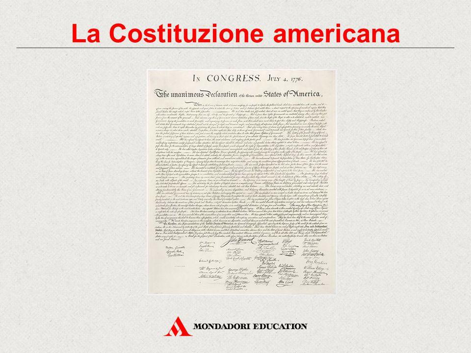 La Costituzione americana