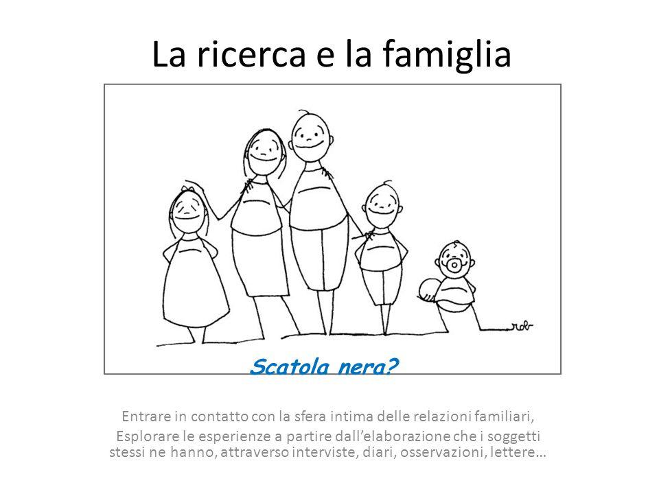 La ricerca e la famiglia