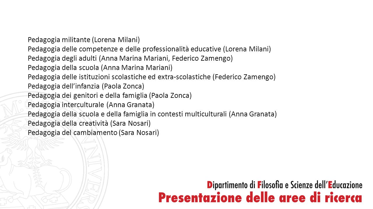 Pedagogia militante (Lorena Milani)