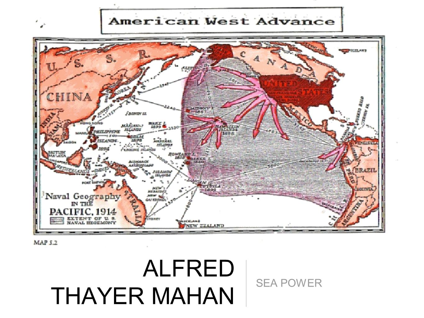 ALFRED THAYER MAHAN SEA POWER