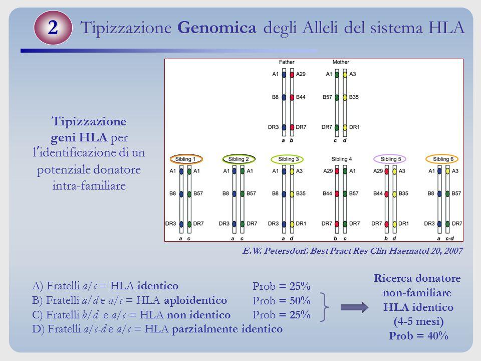 Tipizzazione Genomica degli Alleli del sistema HLA