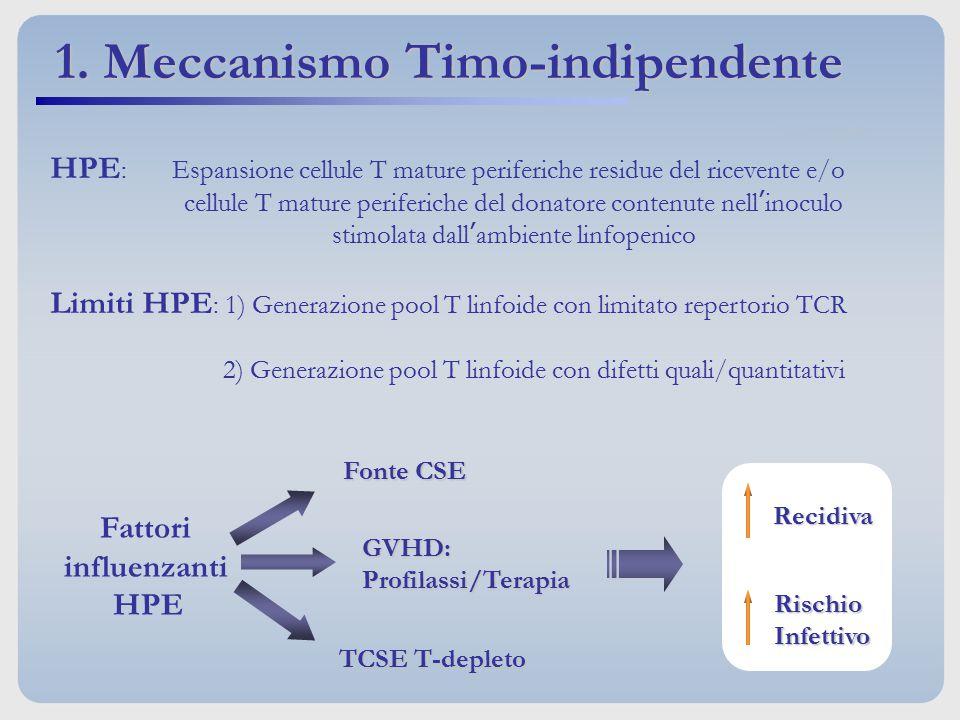 1. Meccanismo Timo-indipendente