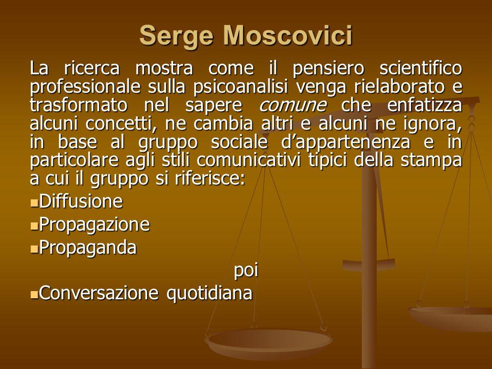 Serge Moscovici