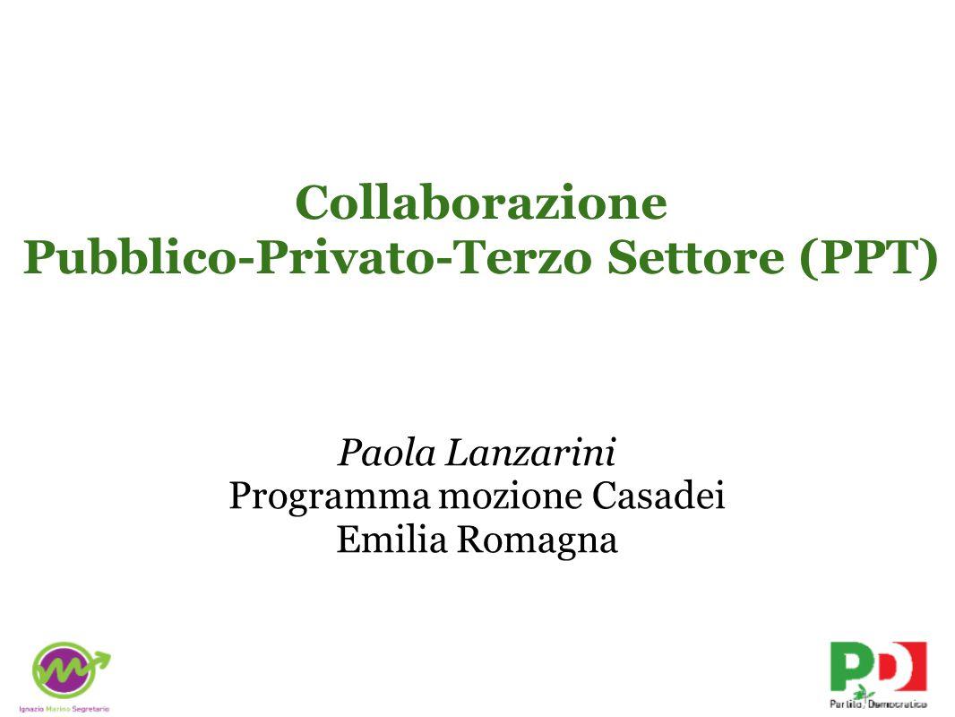 Collaborazione Pubblico-Privato-Terzo Settore (PPT)