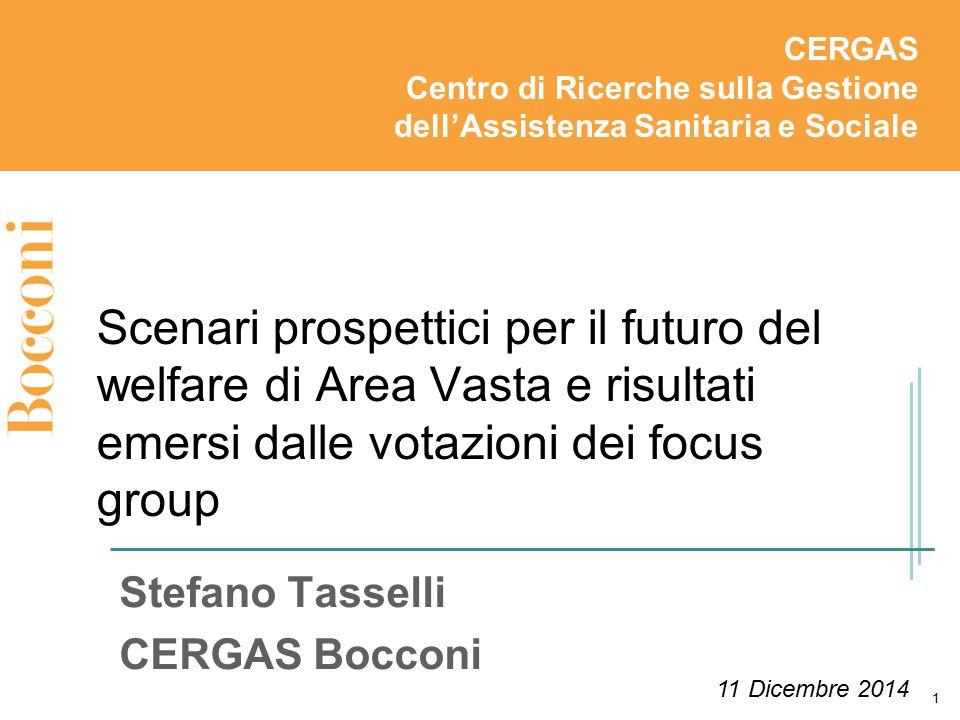 Stefano Tasselli CERGAS Bocconi