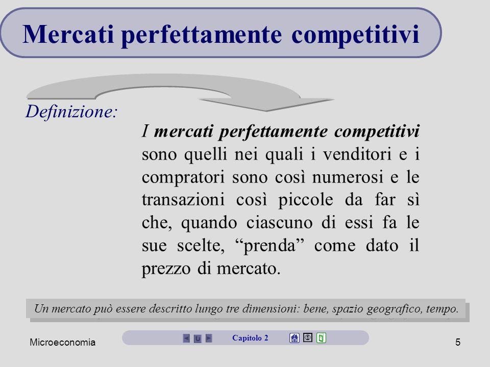 Mercati perfettamente competitivi
