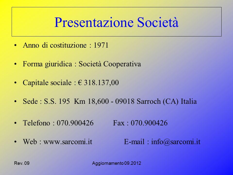 Presentazione Società