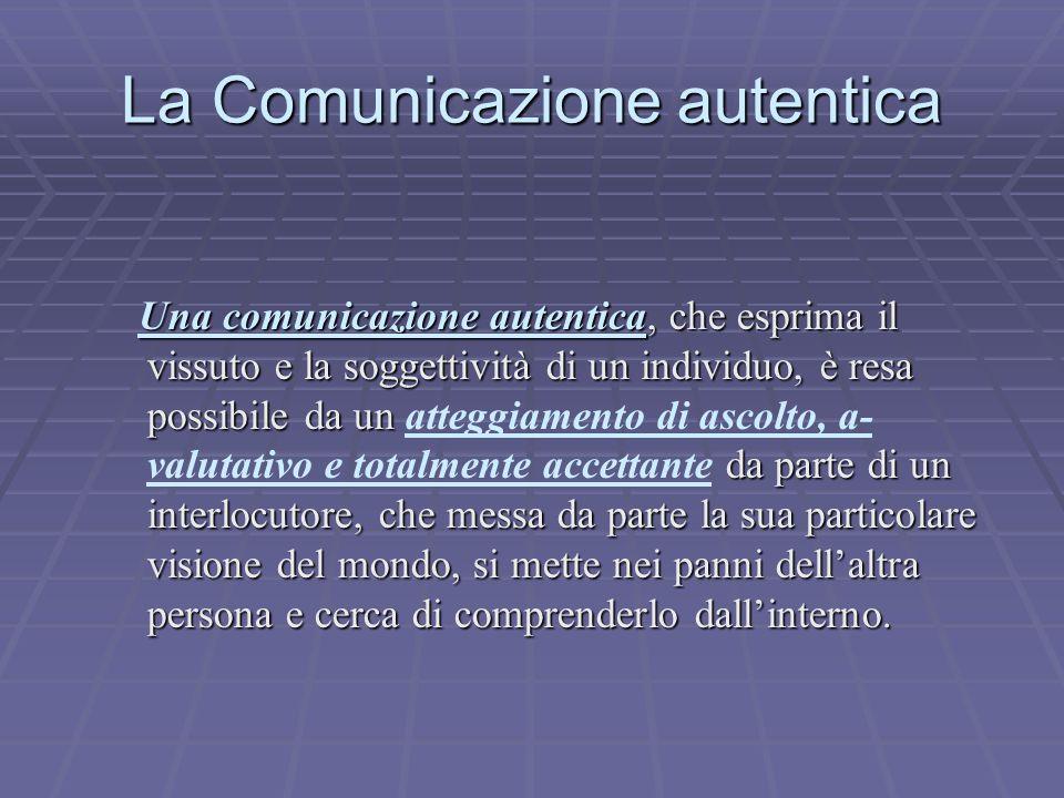 La Comunicazione autentica
