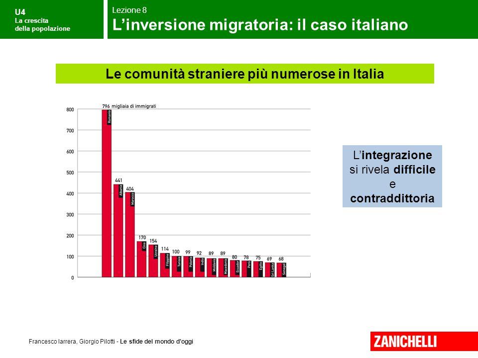 Le comunità straniere più numerose in Italia
