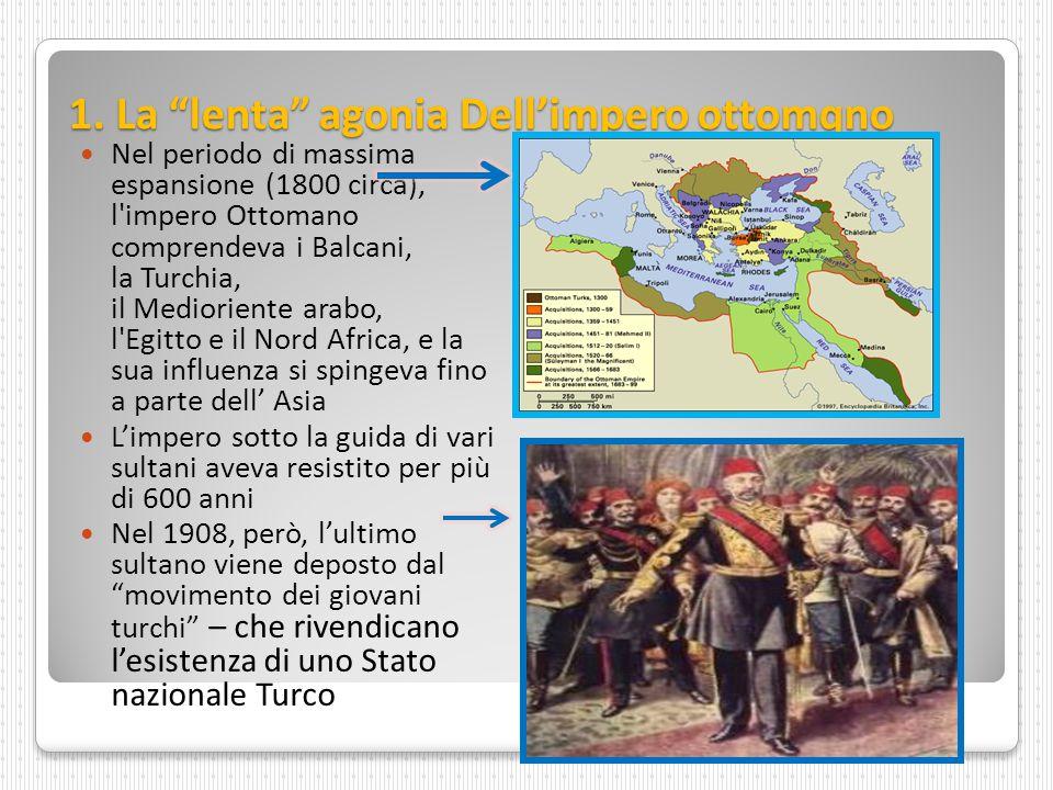 1. La lenta agonia Dell'impero ottomqno
