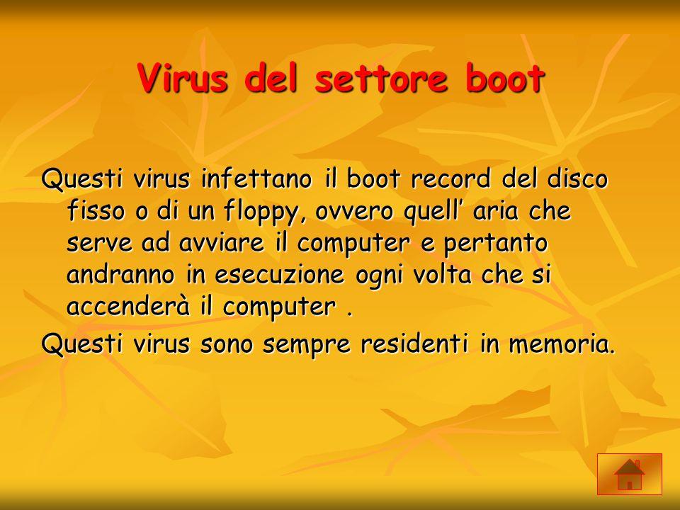 Virus del settore boot
