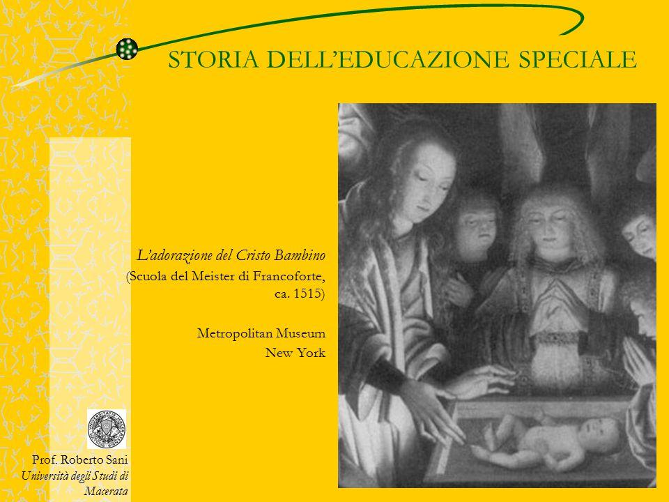 STORIA DELL'EDUCAZIONE SPECIALE