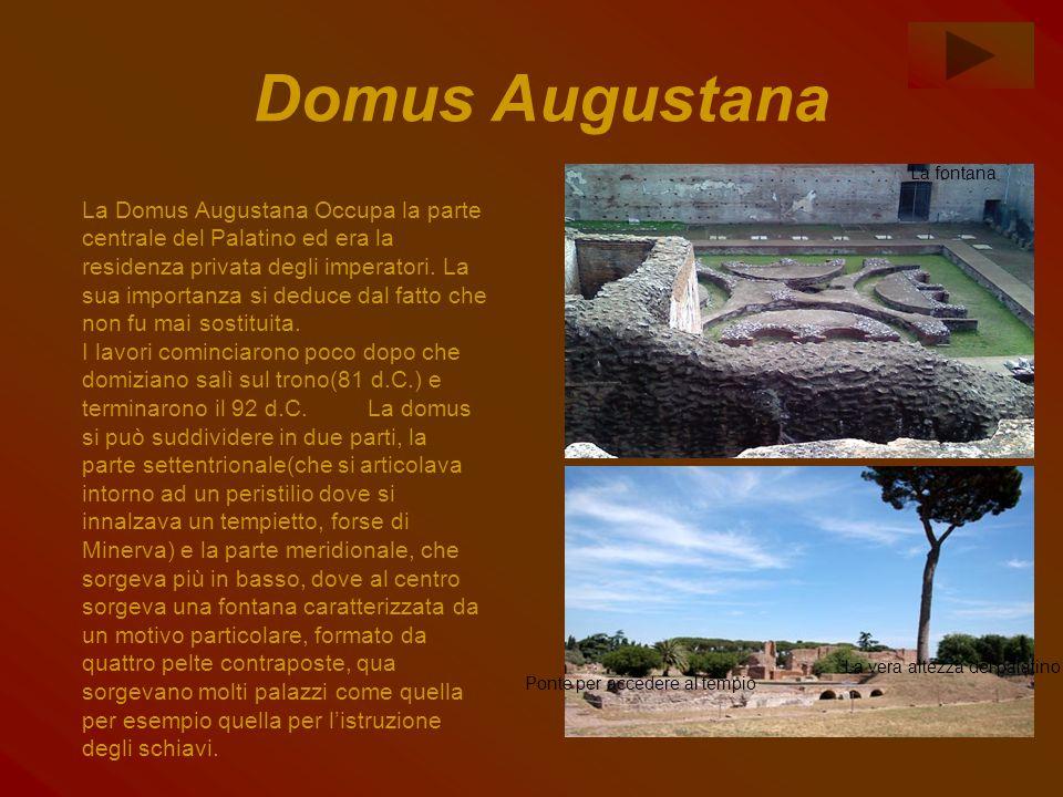 Domus Augustana La fontana.