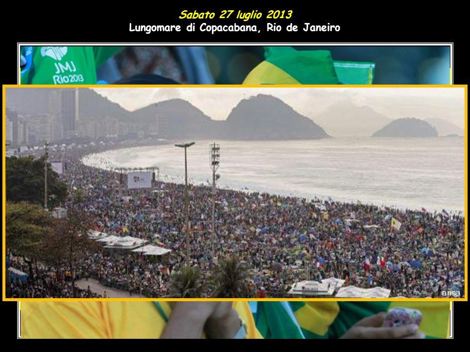 Lungomare di Copacabana, Rio de Janeiro