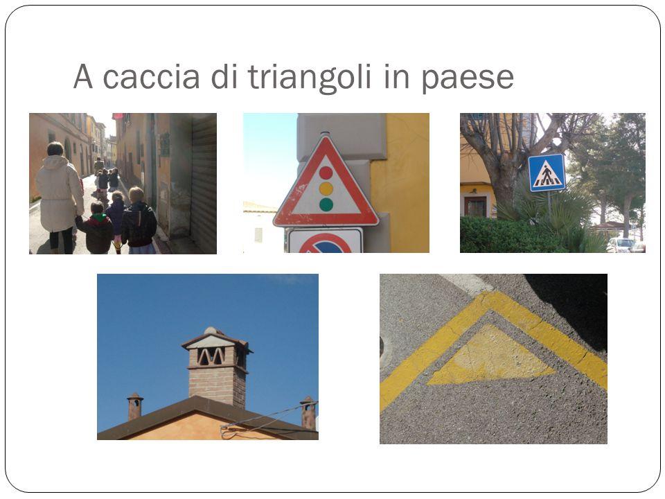 A caccia di triangoli in paese