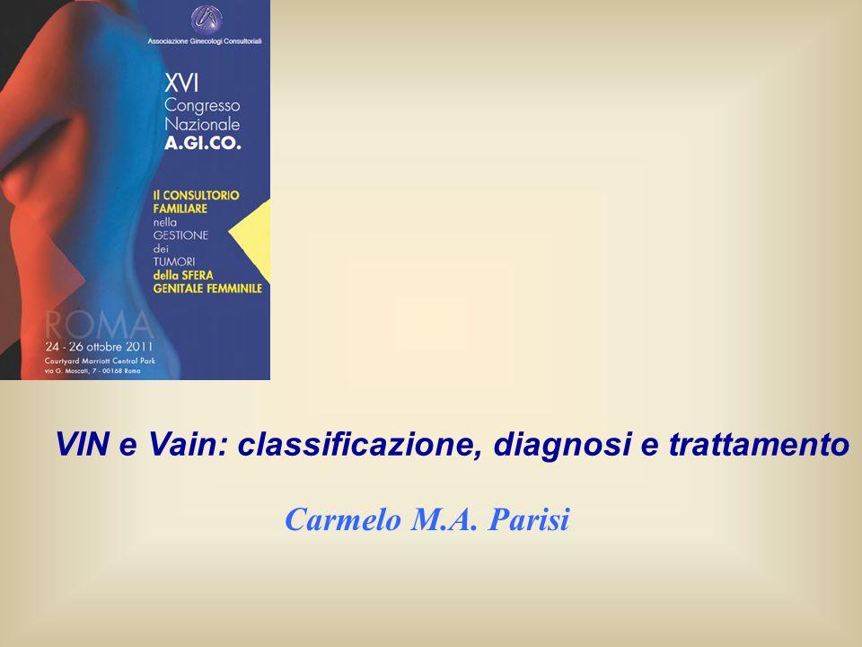 VIN e Vain: classificazione, diagnosi e trattamento