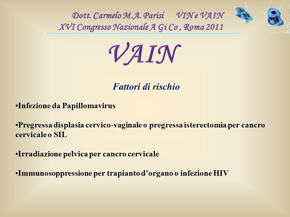 VAIN Dott. Carmelo M.A. Parisi VIN e VAIN
