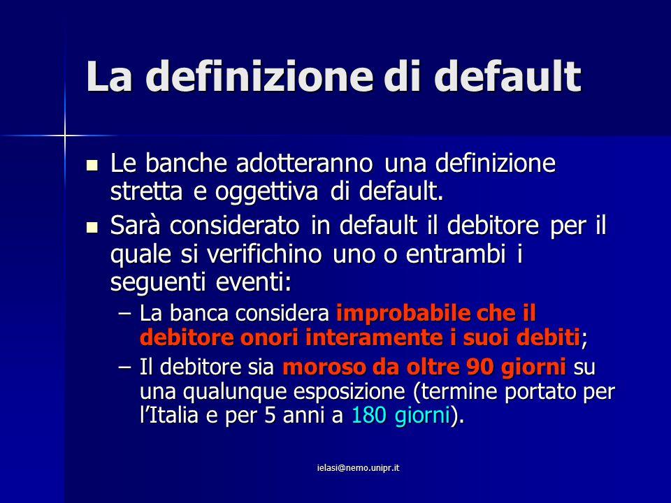 La definizione di default