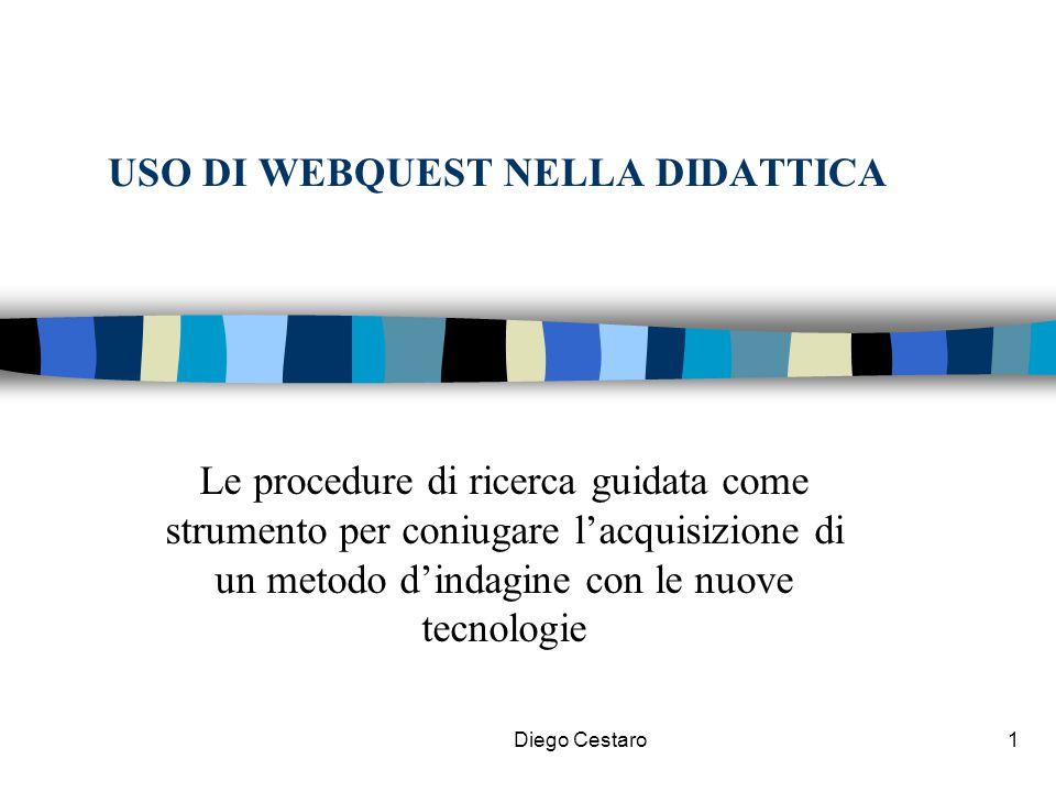 USO DI WEBQUEST NELLA DIDATTICA