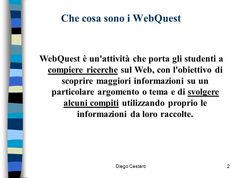Che cosa sono i WebQuest