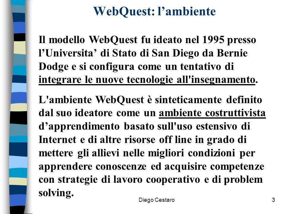 WebQuest: l'ambiente