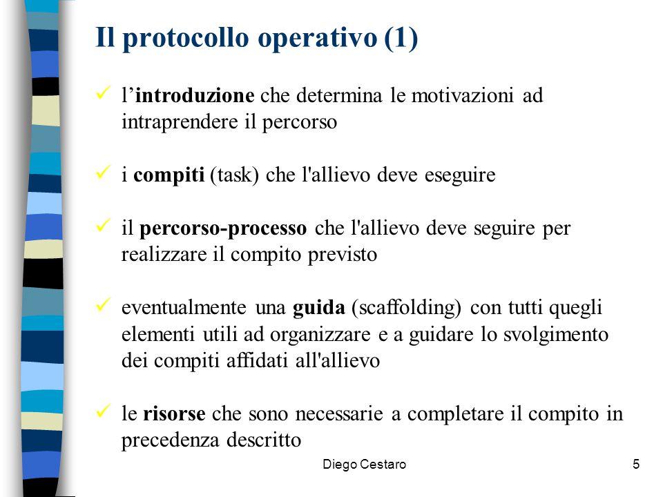 Il protocollo operativo (1)