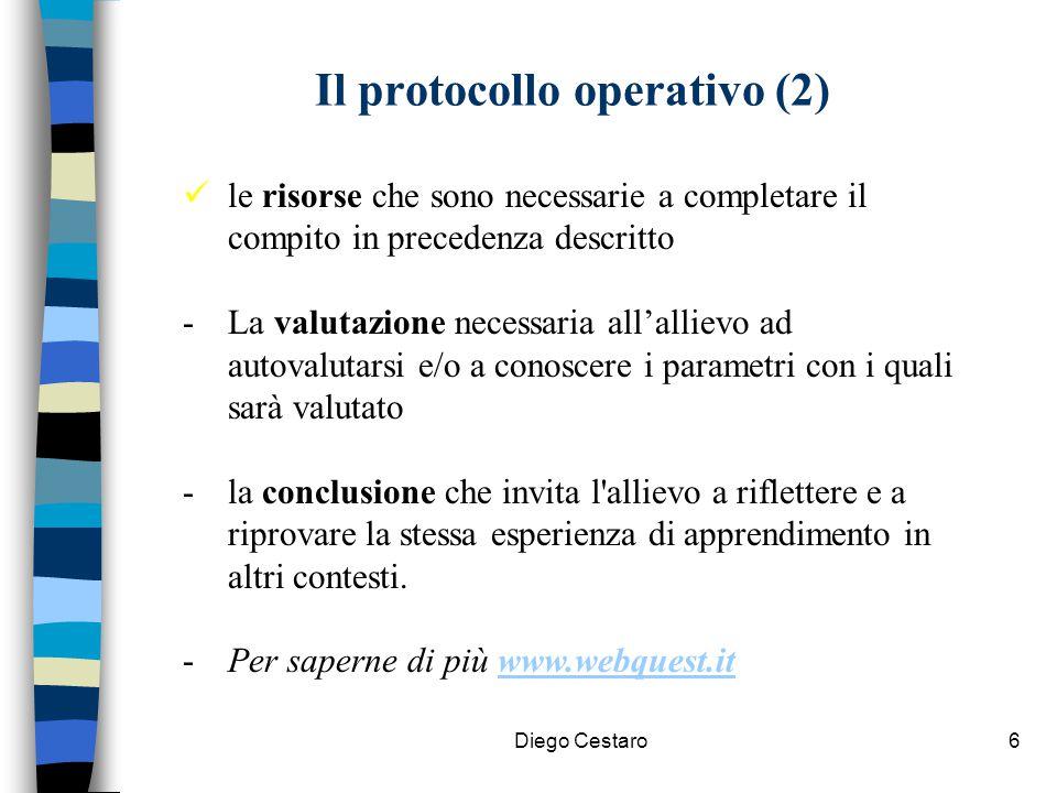 Il protocollo operativo (2)