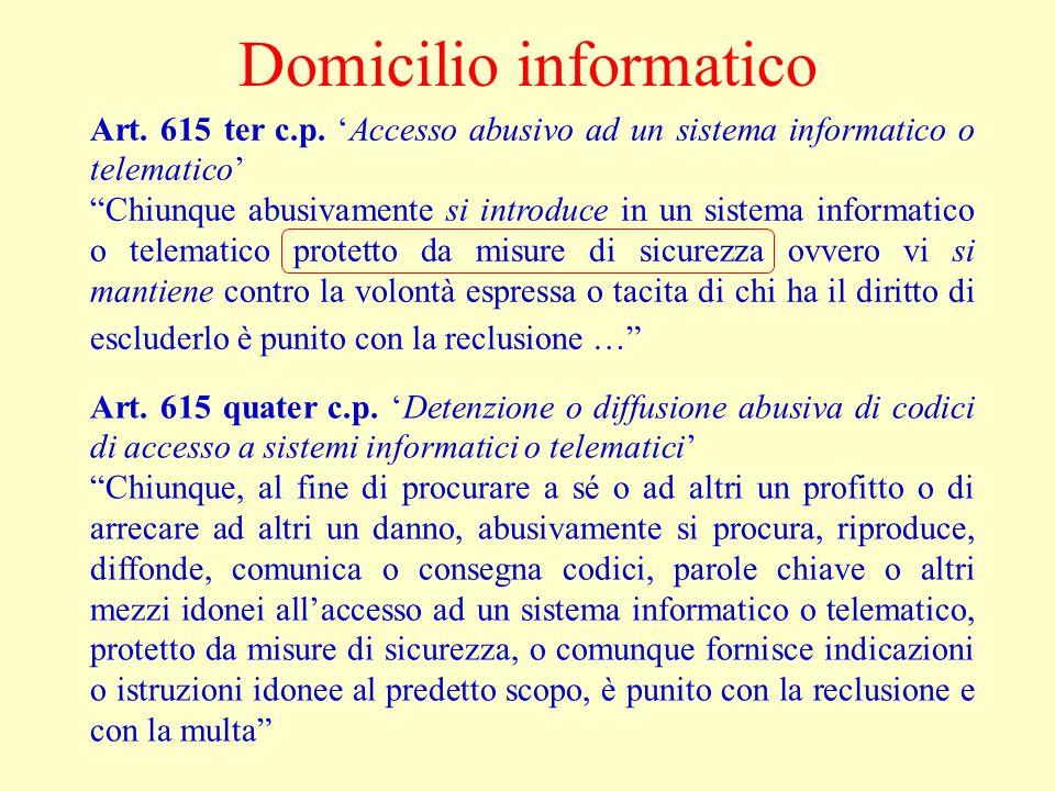 Domicilio informatico