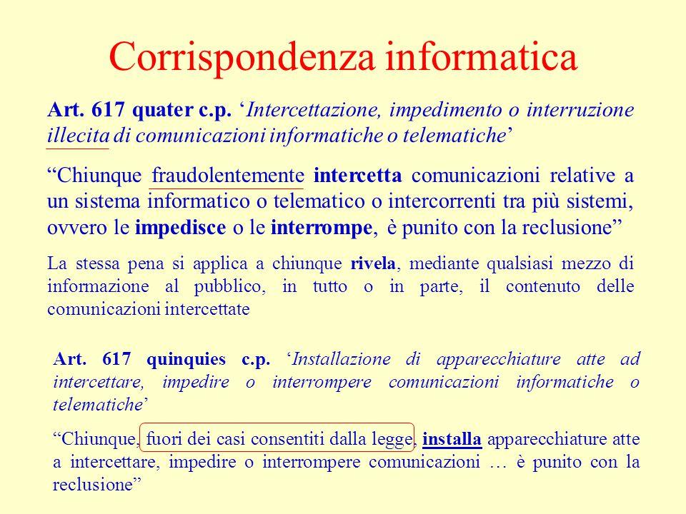 Corrispondenza informatica