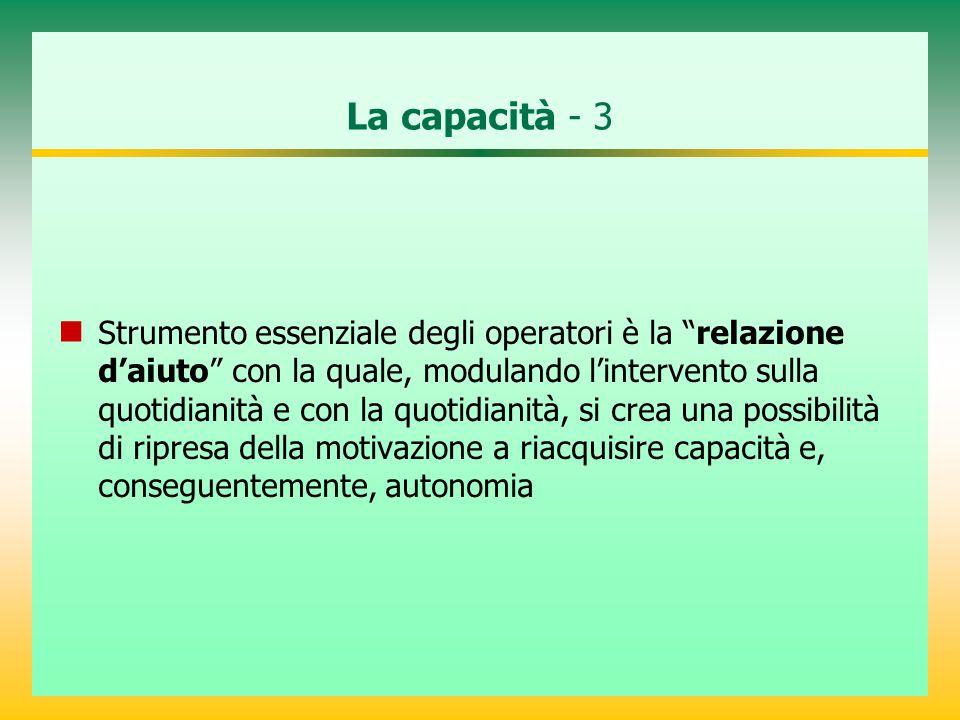 La capacità - 3