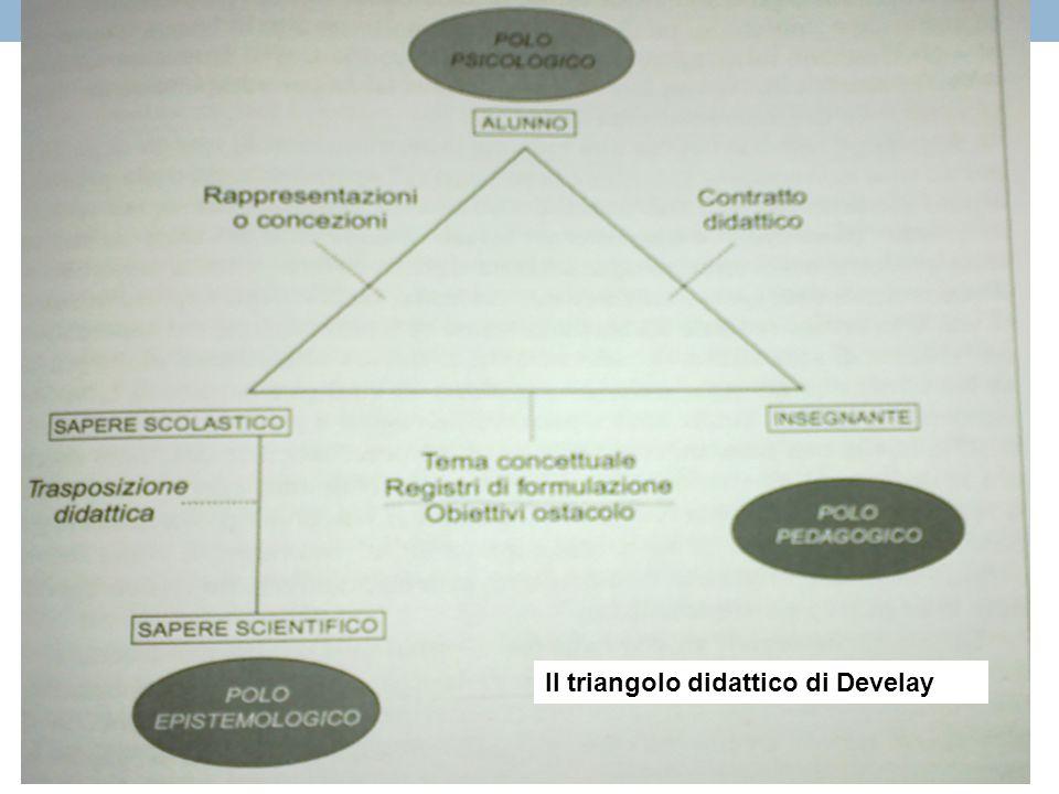 Il triangolo didattico di Develay
