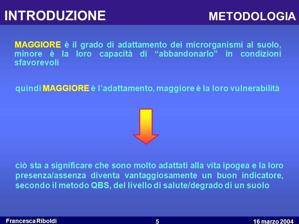 INTRODUZIONE METODOLOGIA