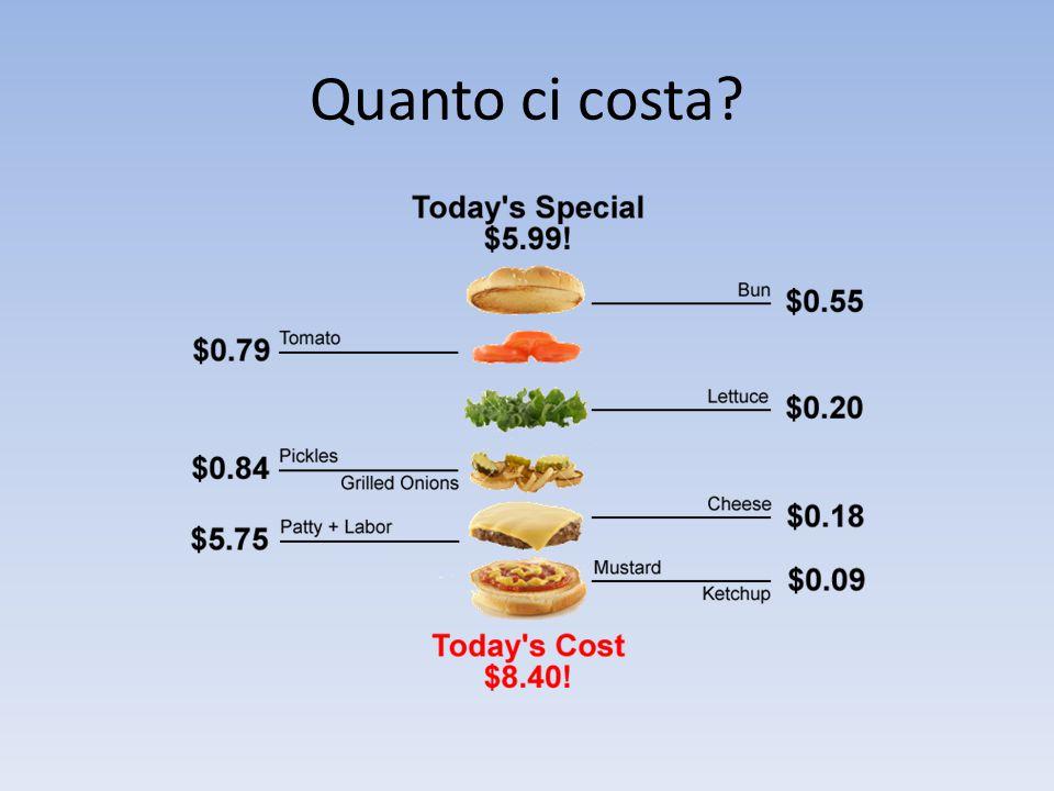 Quanto ci costa