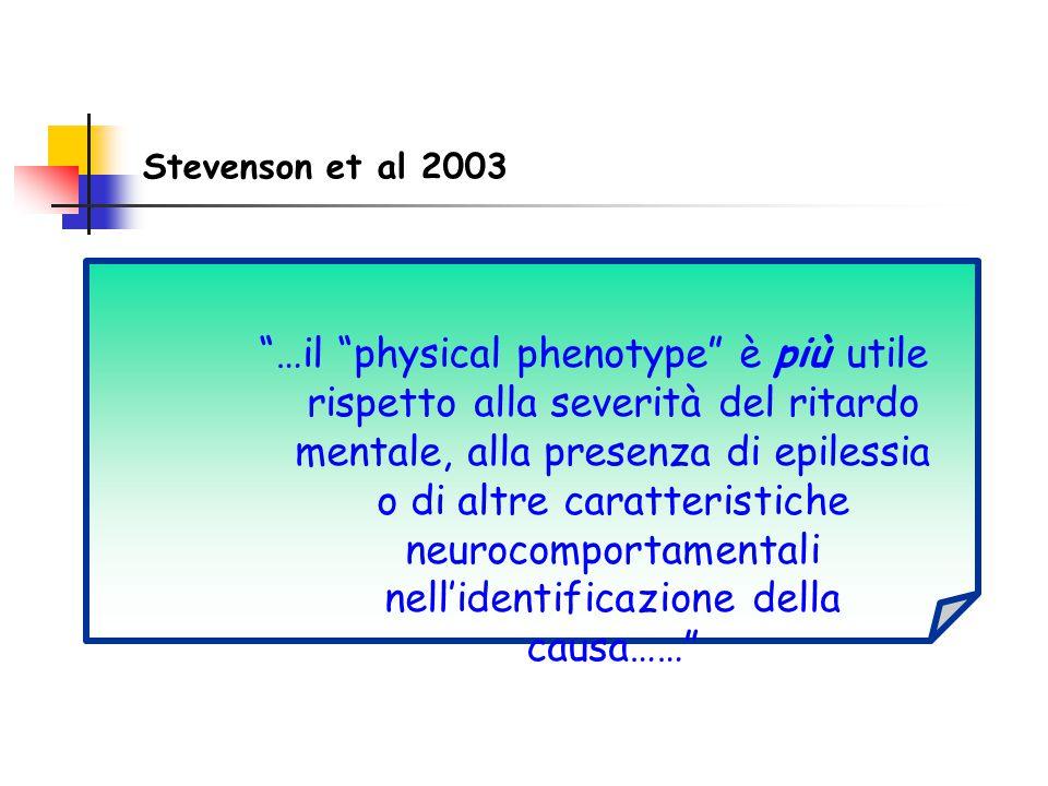Stevenson et al 2003