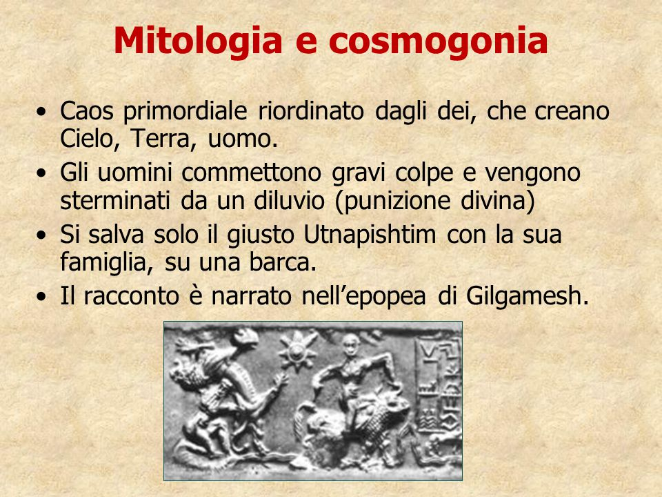 Mitologia e cosmogonia