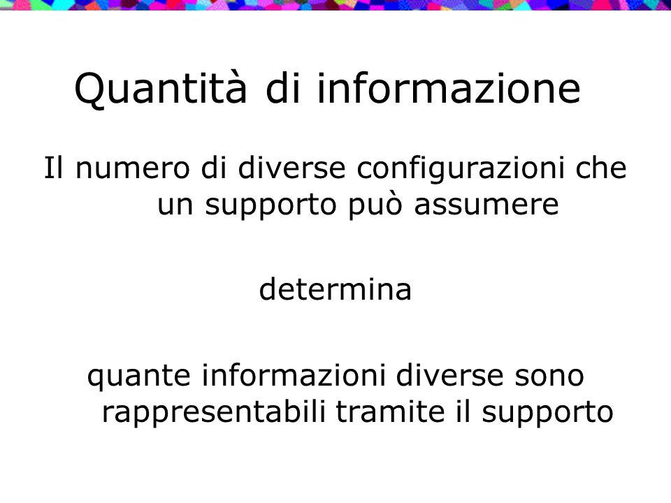 Quantità di informazione