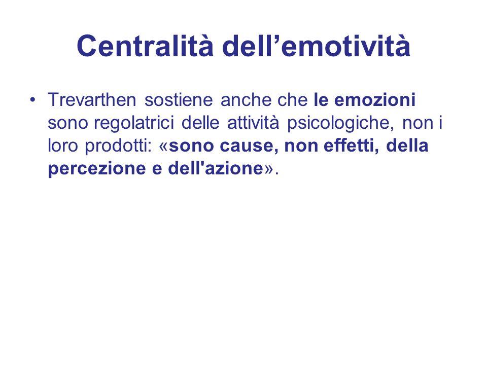 Centralità dell'emotività