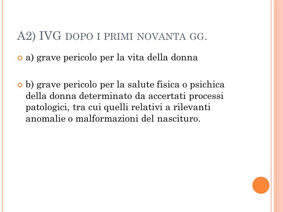 A2) IVG dopo i primi novanta gg.