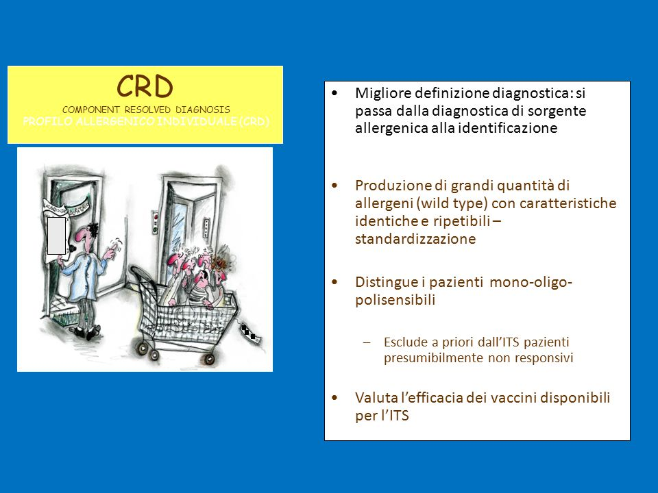 CRD COMPONENT RESOLVED DIAGNOSIS. PROFILO ALLERGENICO INDIVIDUALE (CRD)