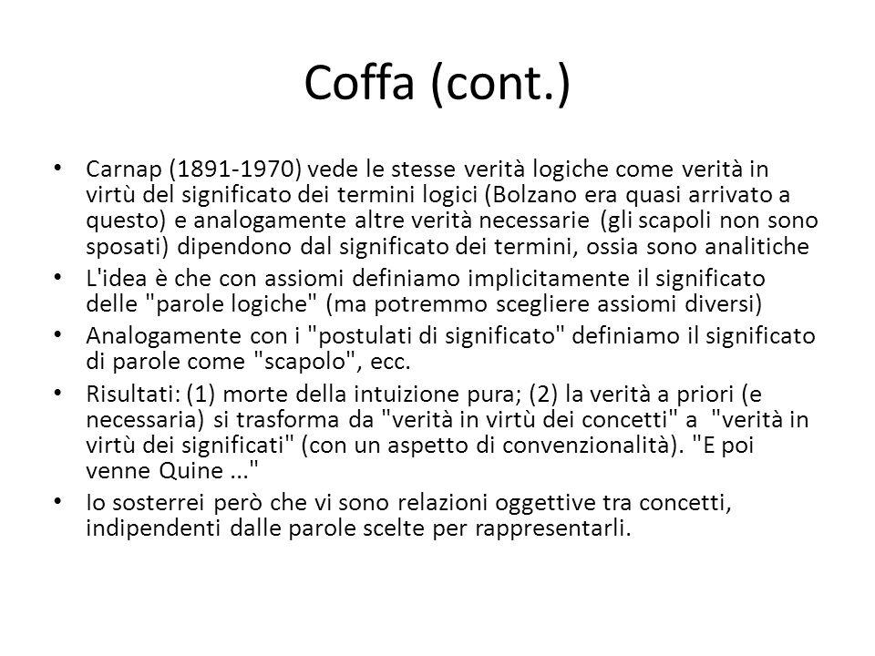Coffa (cont.)