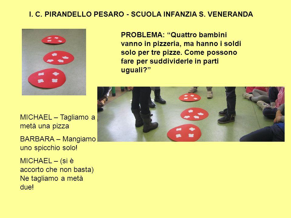 I. C. PIRANDELLO PESARO - SCUOLA INFANZIA S. VENERANDA