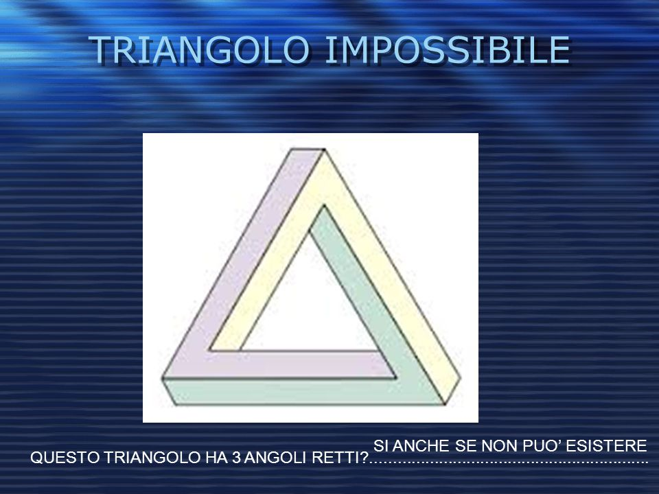 TRIANGOLO IMPOSSIBILE